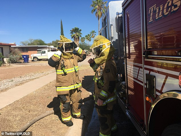 Tucson Fire Department warn pet owners to be mindful of the threat
