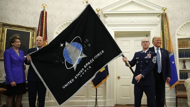 Official Space Force flag