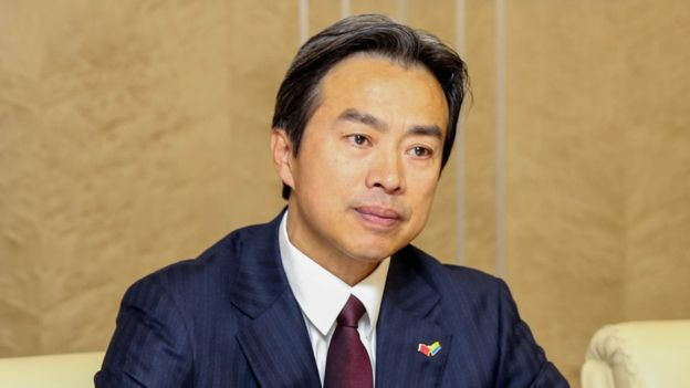 Du Wei the Chinese Ambassador to Israel