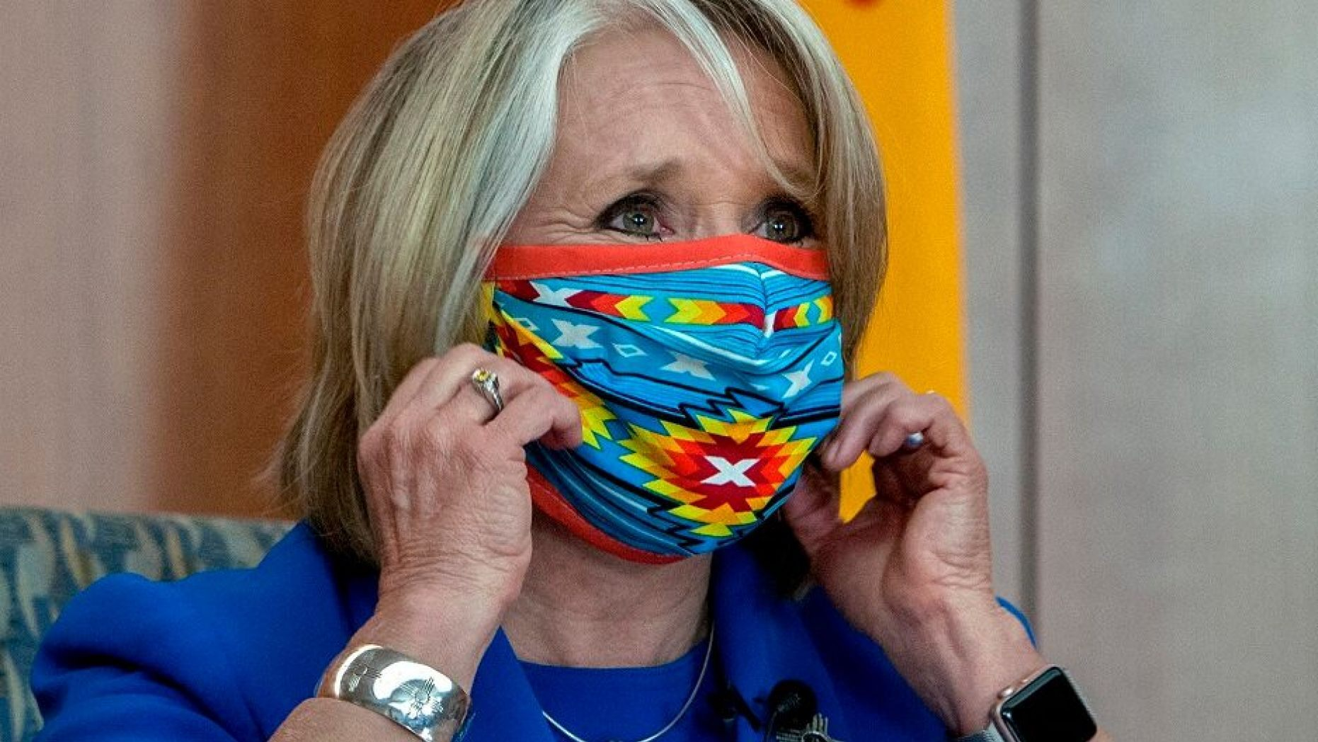 New Mexico governor Michell Grisham facing criticism due to her decision to keep jewlery store open only to stock up on high end jewelry