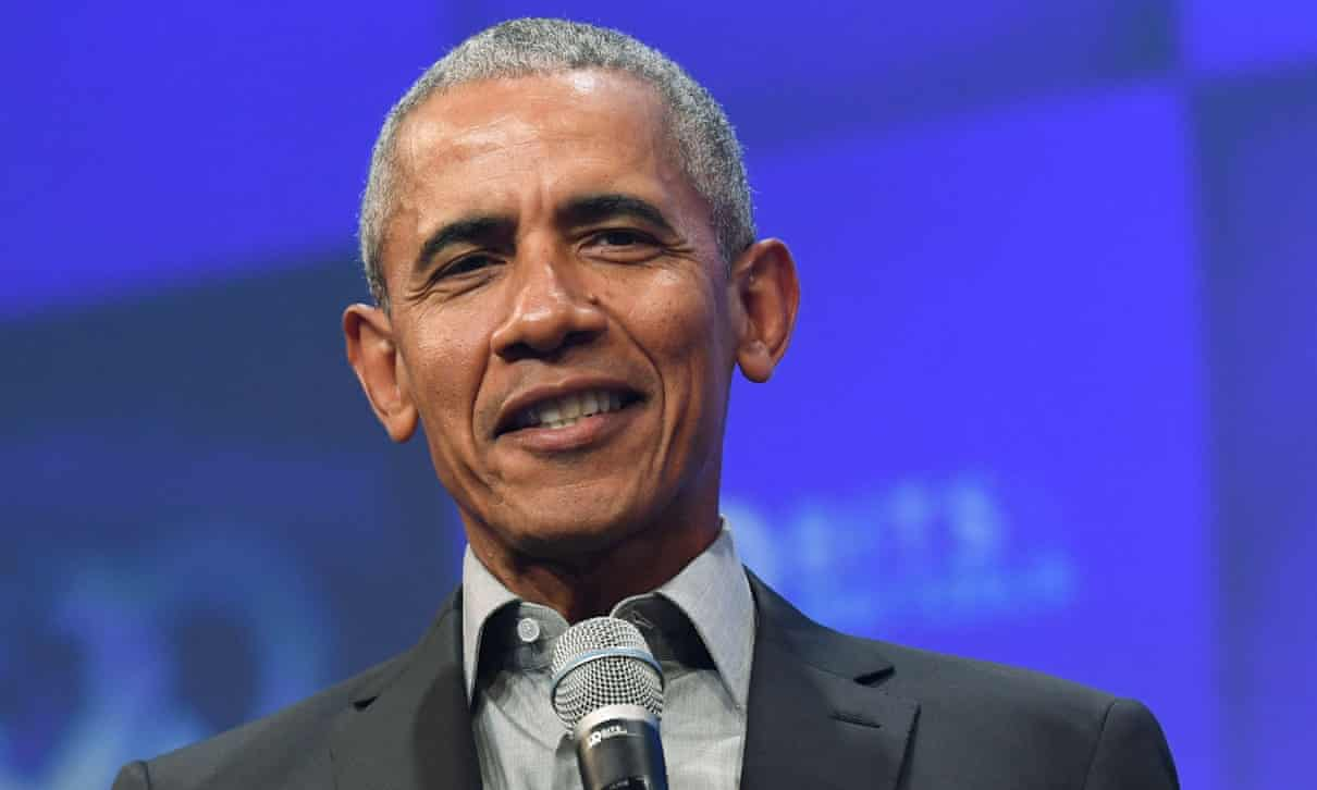 President Obama criticizing Trump administration and DOJ for dropping Flynn case